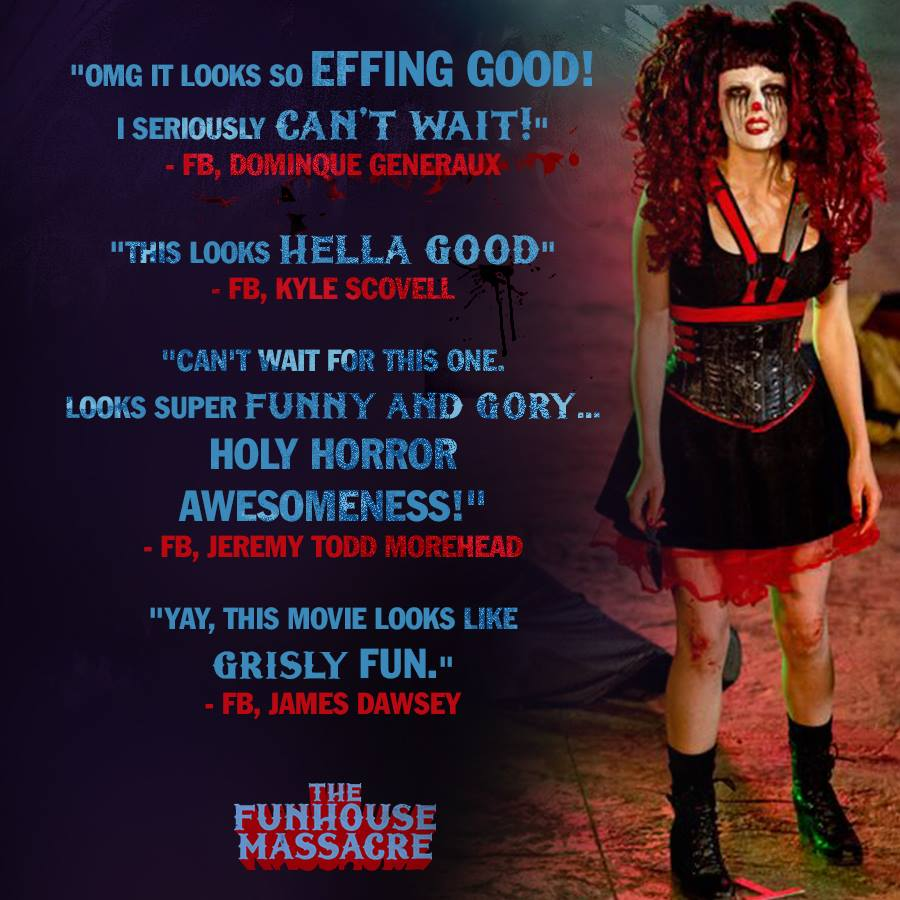 The Horrors of Halloween: THE FUNHOUSE MASSACRE (2015) Movie