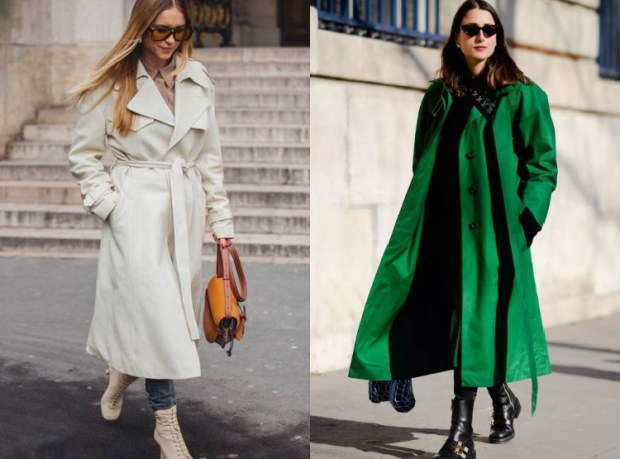 Winter 2019 Trendy Trench Coats Street Style For Women