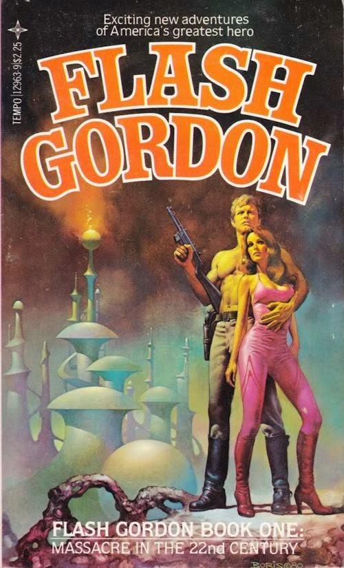 Retro Reviews: Flash Gordon: Massacre in the 22nd Century (Flash Gordon 1) by David Hagberg