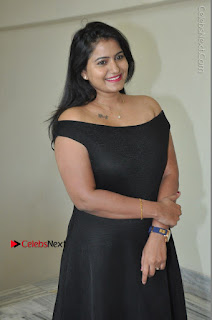 Telugu Actress Swathi Reddy Latest Stills in Black Gown  0026.JPG