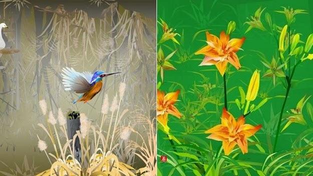 Tatsuo Horiuchi paintings 1
