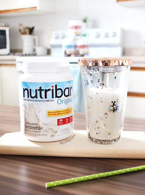 Smoothie Nutribar substitut de repas en poudre