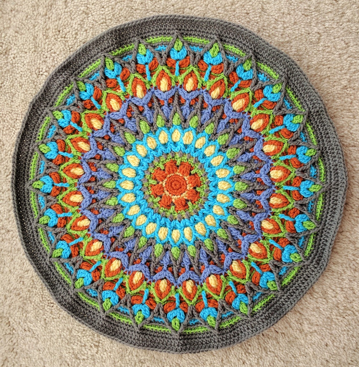 Spanish Mandala by Cindy Douglass
