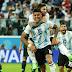 Argentina sofre, mas vence com gol no fim e avança na Copa do Mundo