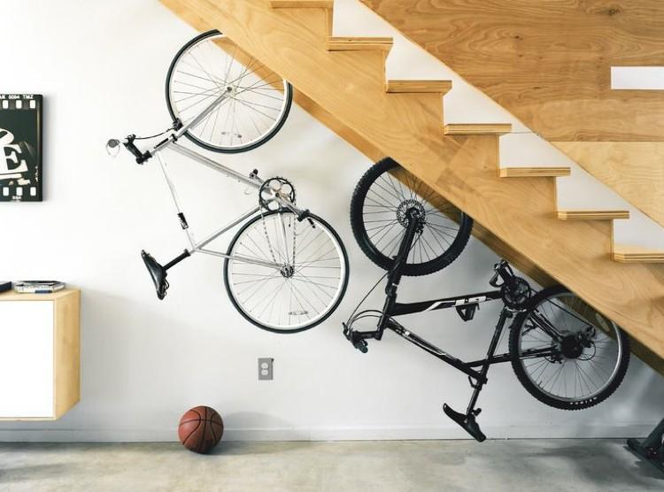 Cómo guardar bicis