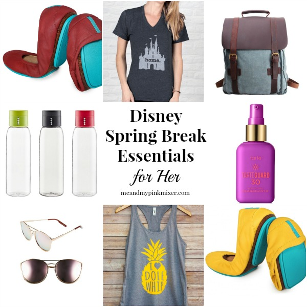 Spring Break Essentials for Walt Disney World