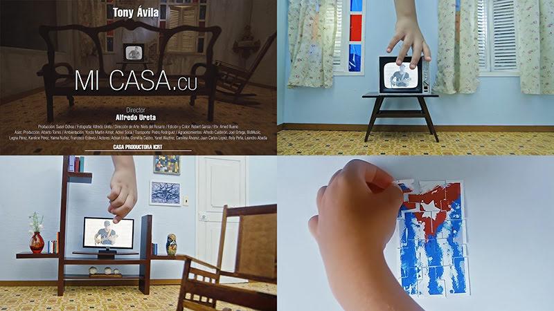 Tony Ávila - ¨Mi Casa.cu¨ - Videoclip - Director: Alfredo Ureta. Portal Del Vídeo Clip Cubano