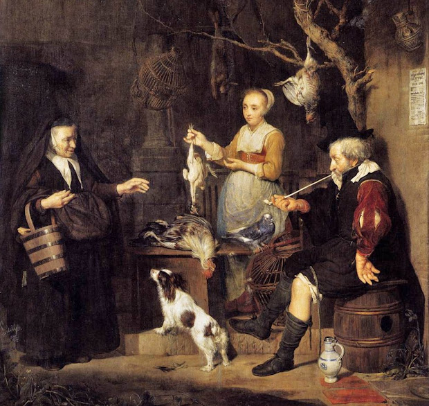 ' Time Sharing Harvest -1600s Food & Marketing