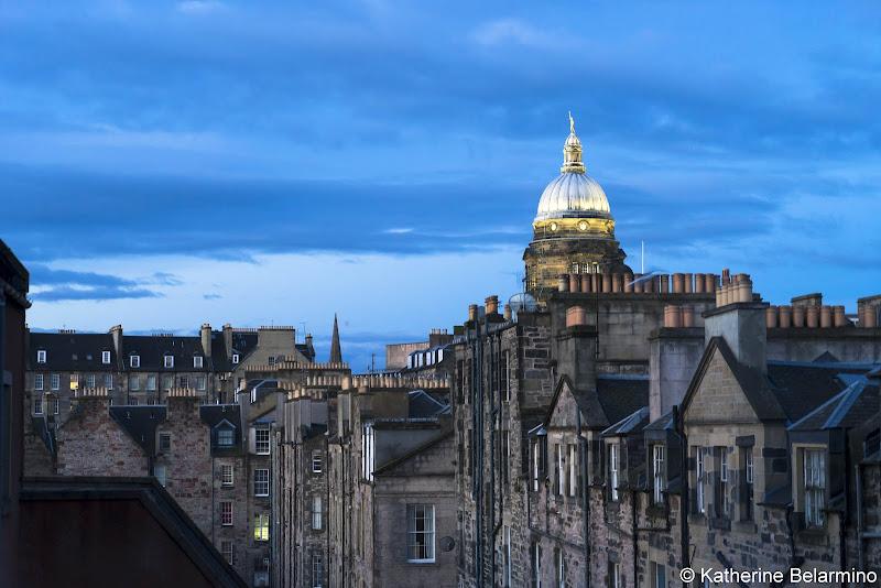 View from Radisson Blu Edinburgh Things to Do in Edinburgh in 3 Days Itinerary