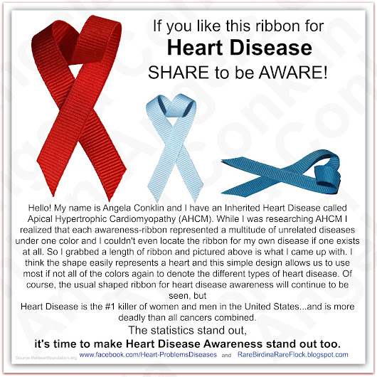 New Heart Disease Ribbon - Just a thought