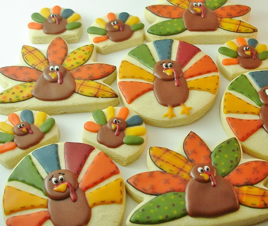 Thanksgiving Cookie Crafts: Cute Food For Kids?: 30 Edible Turkey Craft Ideas For