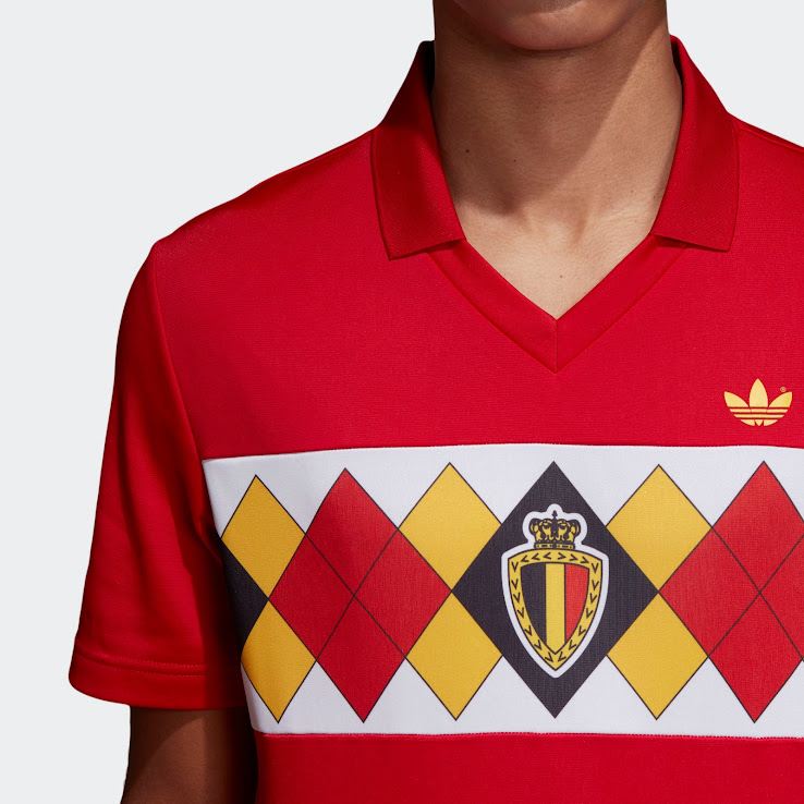 Adidas Originals Belgium 1984 Retro Jersey Released - Footy ... 2deeb810f