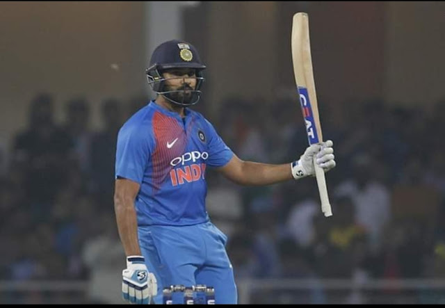 Rohit Sharma broke kohli record