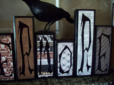 Nevermore Wood Blocks www.summerscraps.com