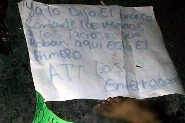 """SICARIOS HACEN CASO A SUGERENCIA del """"BRONCO"""" y MUTILAN a RATERO"""