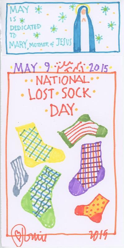 The Official Tomie Depaola Blog Vintage National Lost Sock