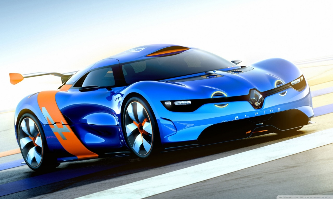 Renault Alphine Concept Car Wallpaper  Auto Keirning Cars