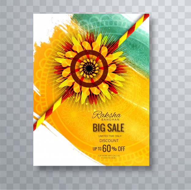 Illustration of greeting card Free Vector