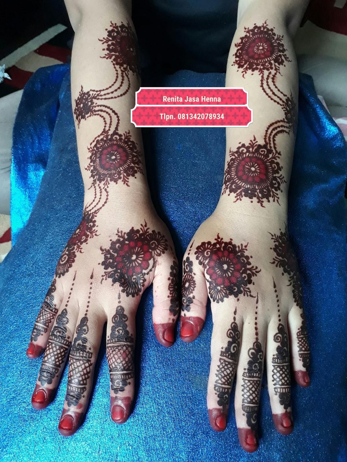 Jasa Henna Pengantin Renita Maros Henna Wedding Marun