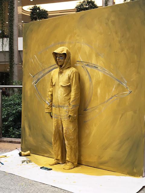 Ben Heine Art - Invisible - Flesh and Acrylic - BenHeineArt - Eye - Ankamall