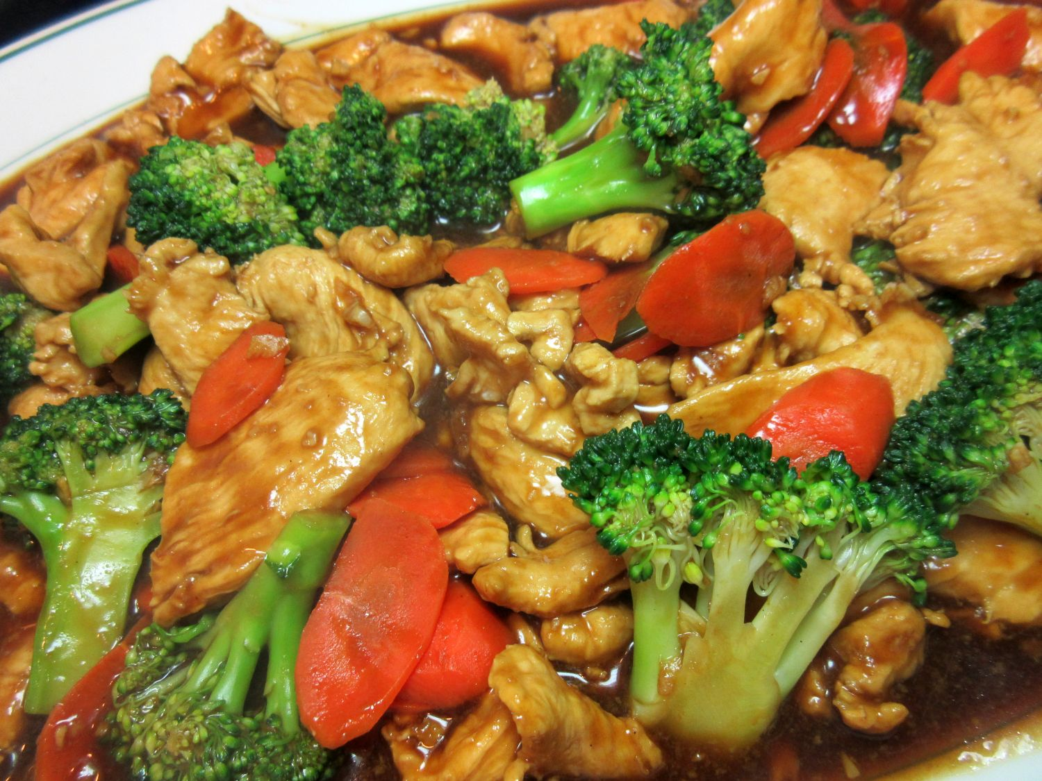 Chicken With Broccoli Chinese