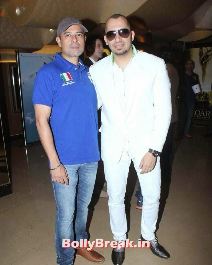 Atul Agnihotri, Ali Quli Mirza, Celebs at 'Roar' Movie First Look Launch