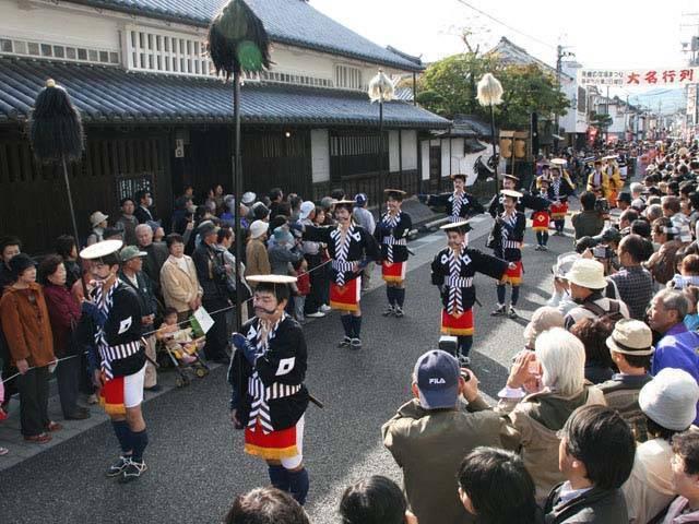 Yagake Shukuba Matsuri (parade), Yagake Town, Okayama Pref.