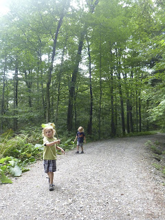 "Mt. Tom, Vermont (or the day that the ""Precipice Trail"" seemed like a great option for kids and baby)"