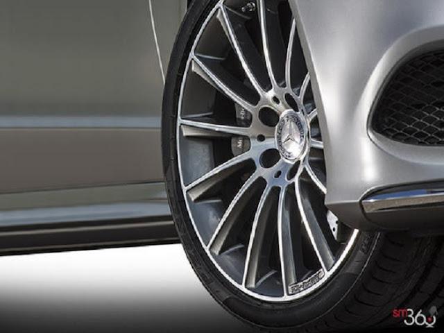 Mâm xe Mercedes CLS 400 thiết kế thể thao AMG, 19-inch, đa chấu