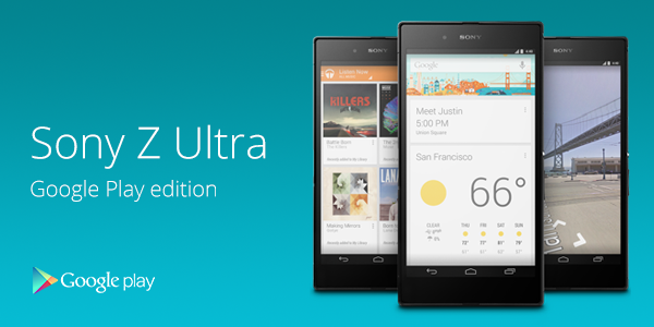 Sony Xperia Z Ultra Google Play Edition discounted to $449