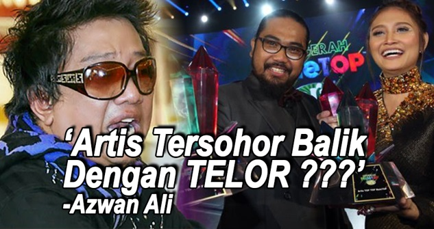 PANAS! KOMEN Berani Mati Azwan Ali Buat Anugerah Meletop Era Malam Tadi ! Memang CARI NAHAS !