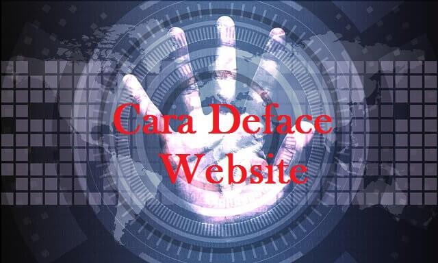 Cara Deface Situs Web Dengan Metode Socket Server With Perl