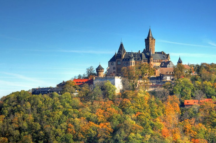 Top 10 Wonderful German Castles - Wernigerode Castle