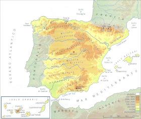 Cartina Fisica Spagna Con Fiumi.Chi Viaggia Impara Immagini Dal Mondo Spagna F