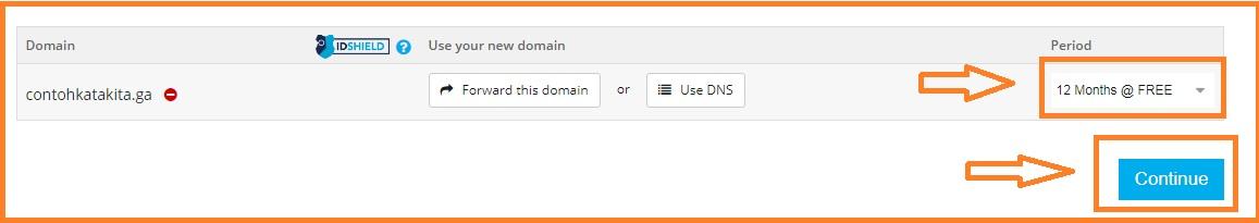Merubah Domain Dot Blogspot Com Menjadi Dot Tk Ml Ga Cf Gk