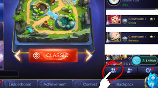 Cara Mengirim Battle Point ke Teman Mobile Legends