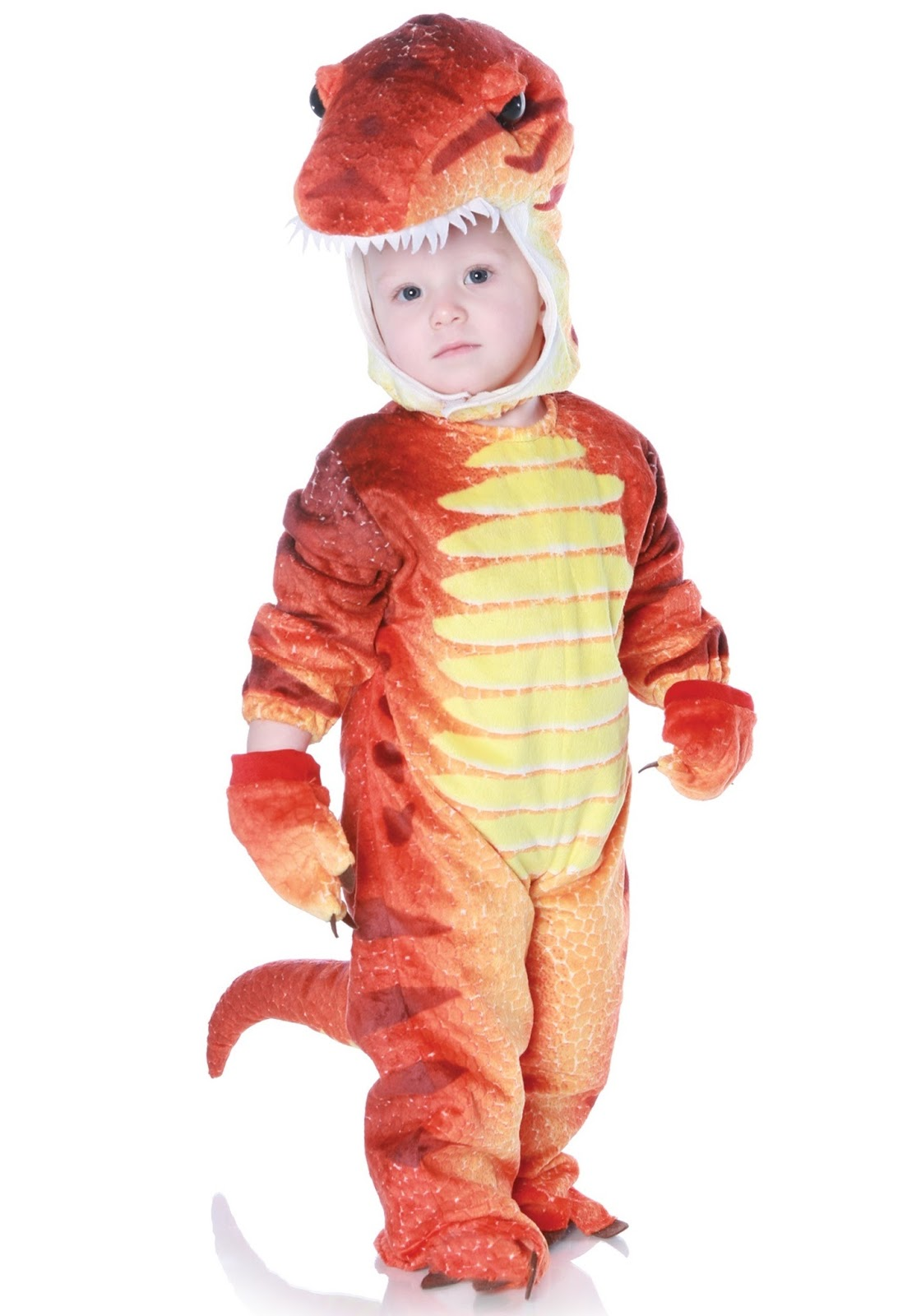 CHILD RUST T-REX COSTUME