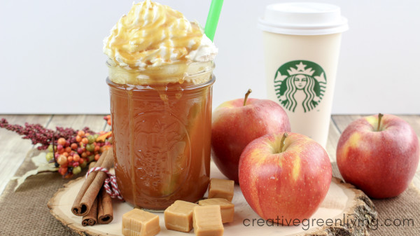 Starbucks hot apple cider