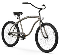 Firmstrong Bruiser Man Beach Cruiser Bike, Grey