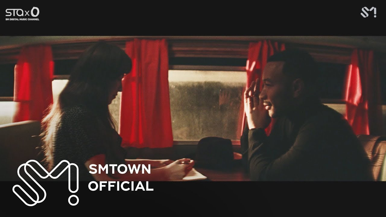 """Red Velvet's Wendy and John Legend Combine Powerful Vocals in the MV """"Written In The Stars"""""""