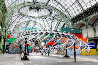Expo : Monumenta 2016 - Huang Yong Ping : Empires - Nef du Grand Palais jusqu'au 18 juin - Paris 8