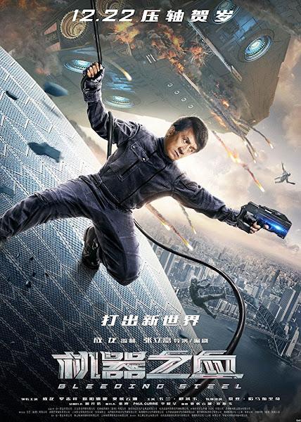 Poster of Bleeding Steel (2017) Full Movie Hindi [Cleaned] 720p HC HDRip ESubs Download