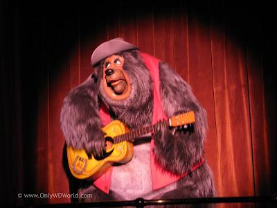 Disney World Classic Attraction Country Bear Jamboree