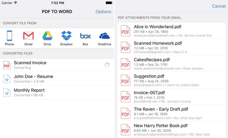 Cometdocs - PDF to Word Converter