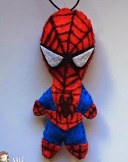 http://www.artedetei.com/2015/03/spiderman-en-fieltro-tutorial.html