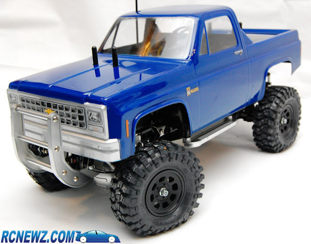 Tamiya High Lift custom chevy pickup truck body