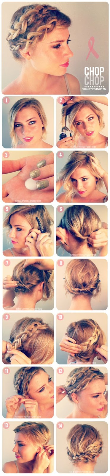 2.BRAIDING SHORT HAIR