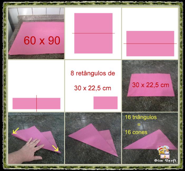 Cone de papel 1
