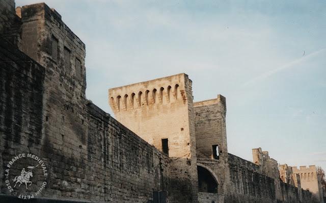 AVIGNON (84) - Les remparts médiévaux
