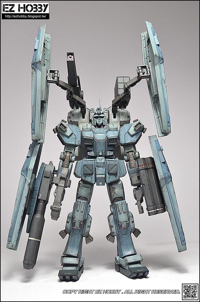 EZ HOBBY: [鋼彈模型]HGTB雷霆宙域戰線FA78全武裝鋼彈 X ICEMAN冰人